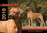 Animal Art 2018 Rhodesian Ridgebacks