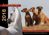 Animal Art 2018 Rhodesian Ridgebacks and Arabian Horses